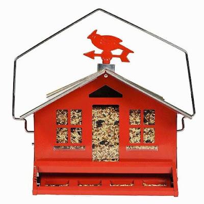 Perky-Pet Country House Bird Feeder