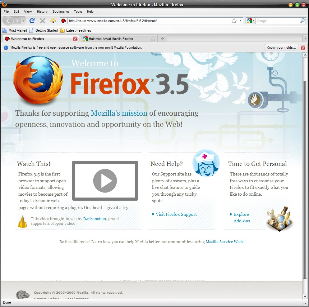 KKPI: Sejarah Mozilla Firefox