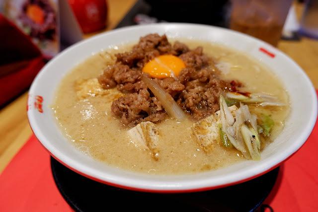 japanese, ramen, ramen nagi, naia terminal 3, restaurant, noodles, soup, egg yolk, beef, tonkotsu, tofu