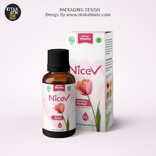 Jasa desain Branding Produk kesehatan