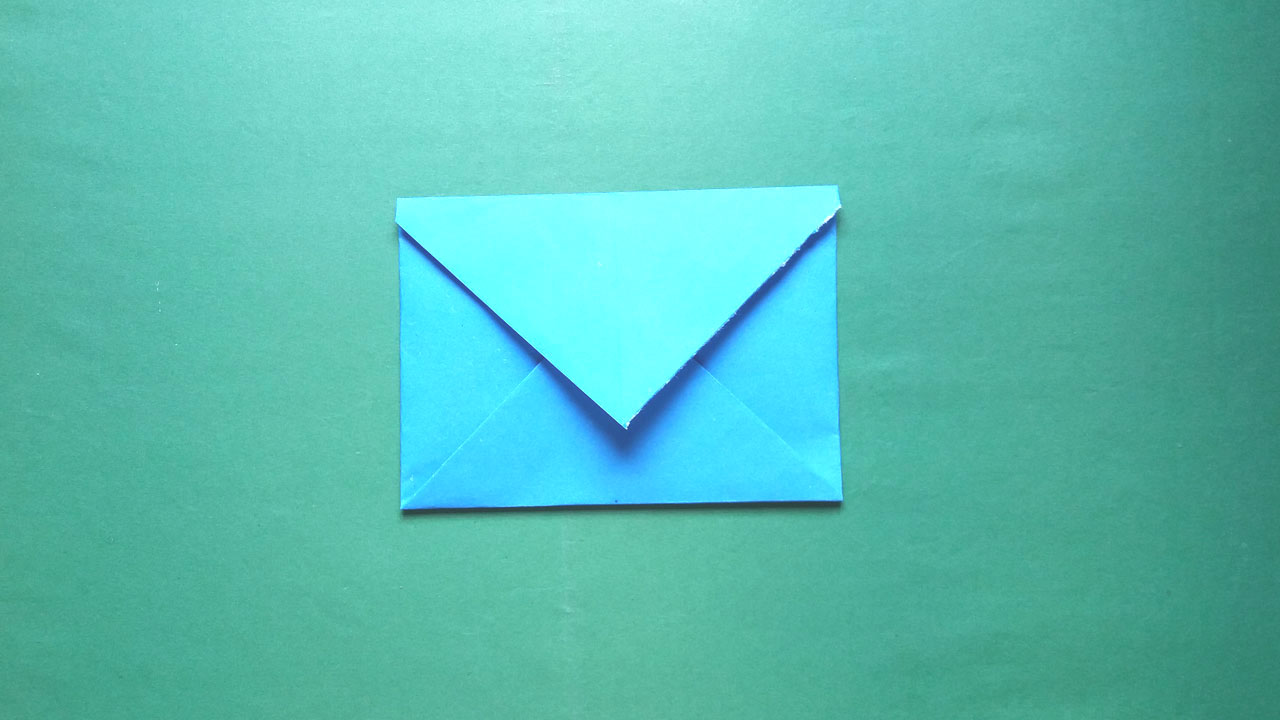 How to Make an Origami Paper Envelope | 720x1280
