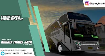 Livery Pack Kurnia Trans Jaya / KTJ by Fayaz