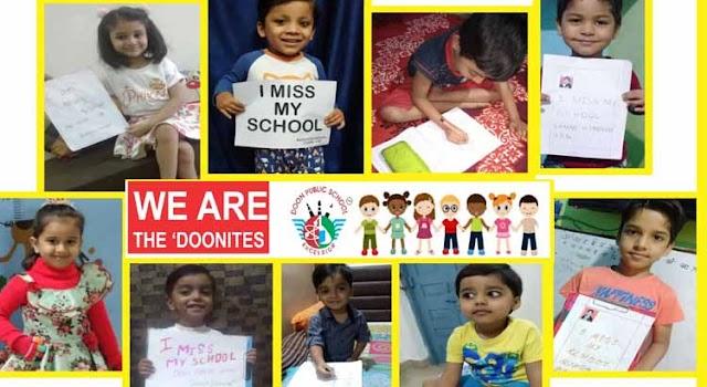 DOON PUBLIC SCHOOL : छात्रों को लुभा रहा है असाइनमेंट, छात्रों में धूम / Shivpuri News