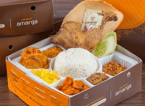 Lunch Box Dapur Solo