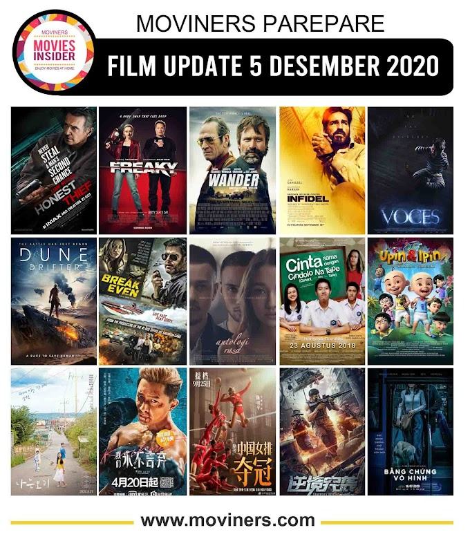 FILM UPDATE 5 DESEMBER 2020