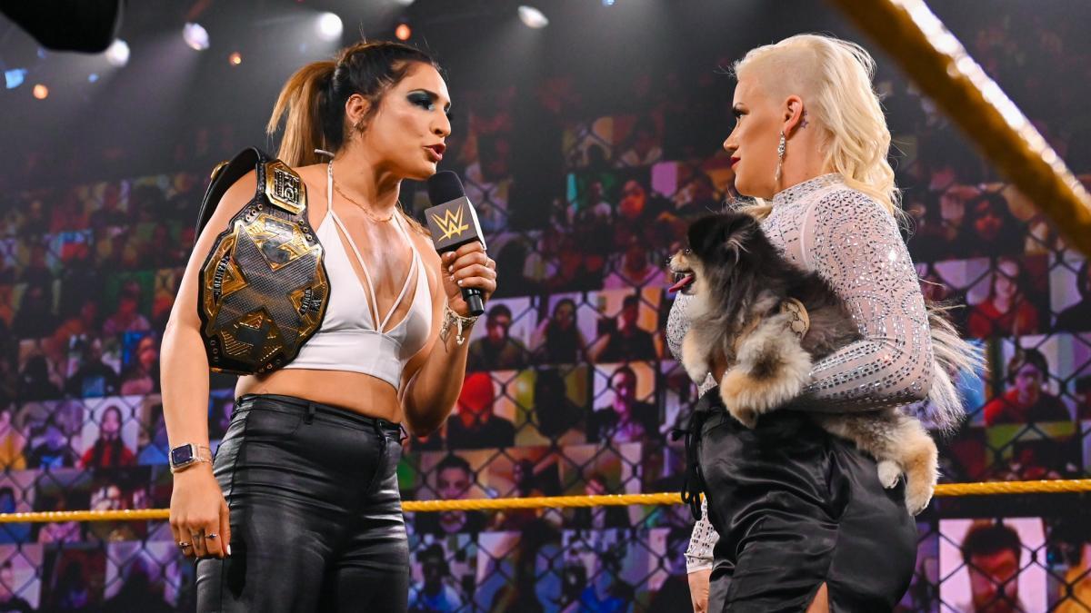 Raquel Gonzalez vs. Franky Monet não deve mais acontecer no WWE NXT de hoje