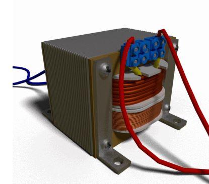 كيف يعمل المحول الكهربائي