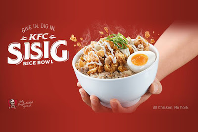 KFC Sisig Rice Bowl