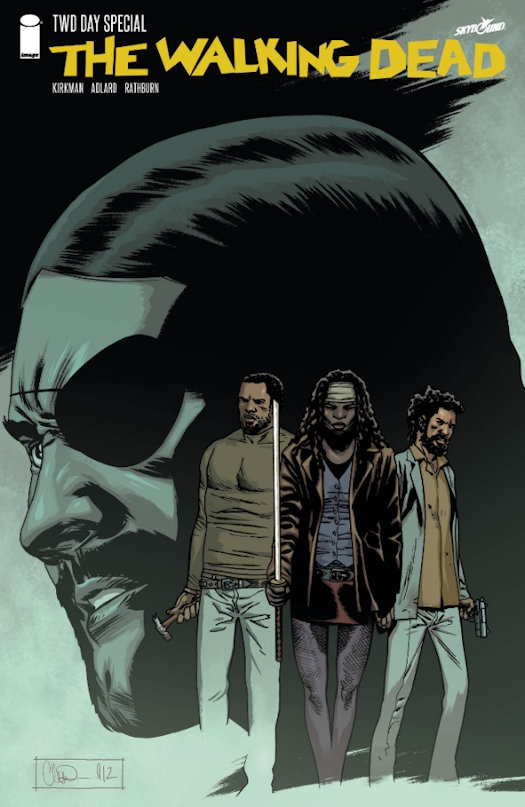 The Walking Dead Day's Collectible Blind Bag Editions Artists Revealed