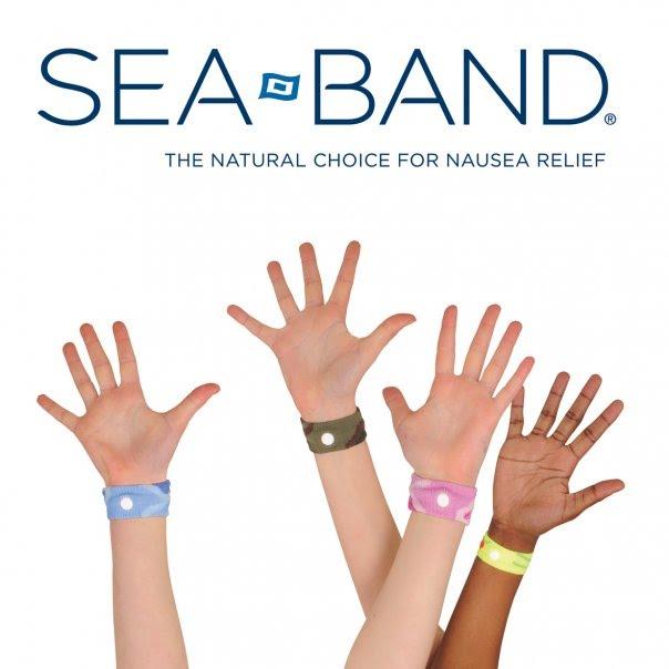 Anti-nausea wrist band | Think Aloud Mommy