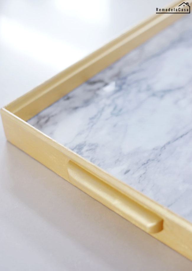how to use marble contact paper