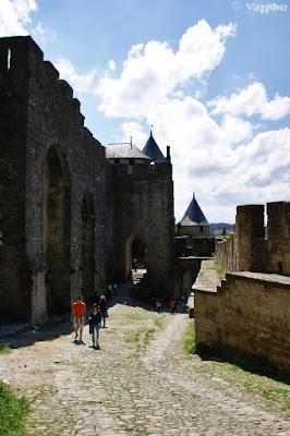 Parte del camminamento sulle mura della cittadella