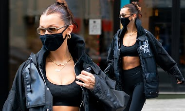 Bella Hadid With Fashion to wear training clothes to the street