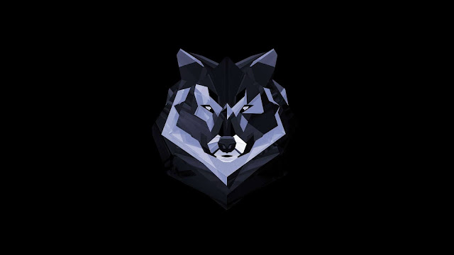 wolf wallpaper art