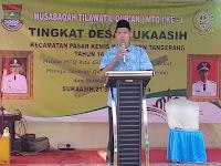 Desa Suka Asih Adakan MTQ ke 1 Tingkat Desa di Ponpes Hudaatul Umam