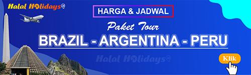 Jadwal dan Harga Paket Wisata Halal Tour Brazil Argentina Peru