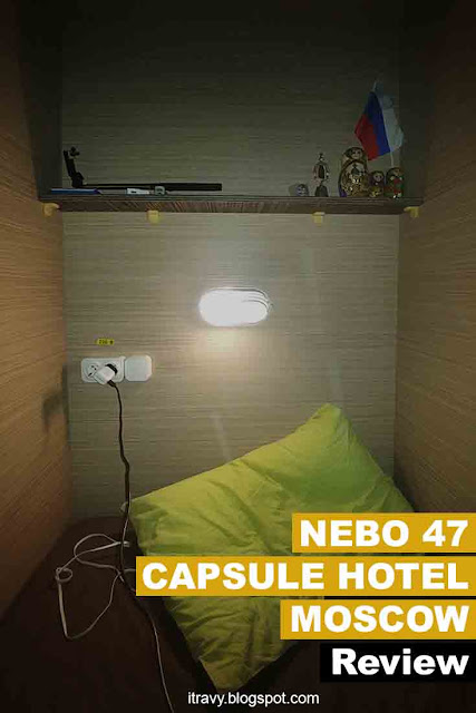 Nebo 47 Capsule Hotel Moscow Review
