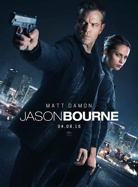 Poster of Jason Bourne 2016 480p Hindi HDTS Dual Audio Full Movie Donwload
