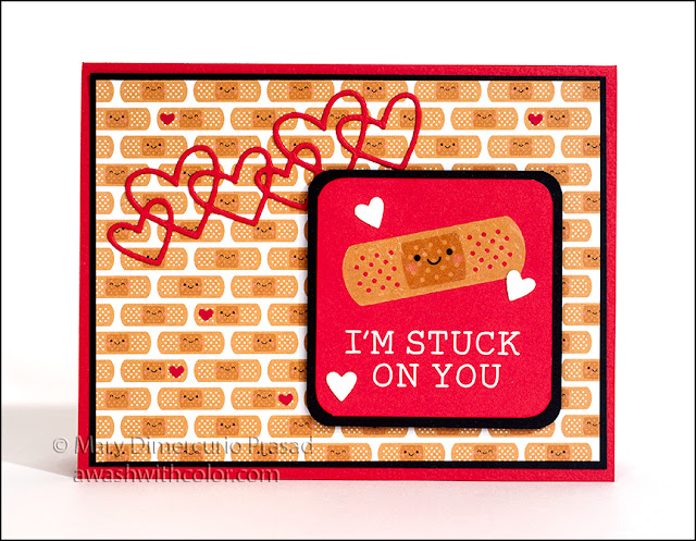 Doodlebug Design Quick Card - Stuck on You