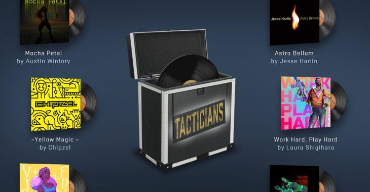 Aktualizacja CSGO Tacticians Music