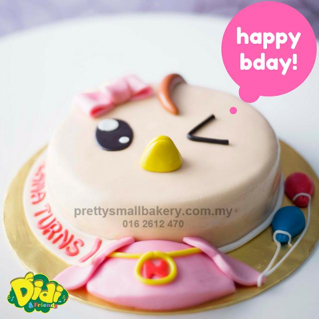 kek hari jadi murah - kek hari jadi shah alam - kek hari jadi didi adn friend - kek birthday didi &friend
