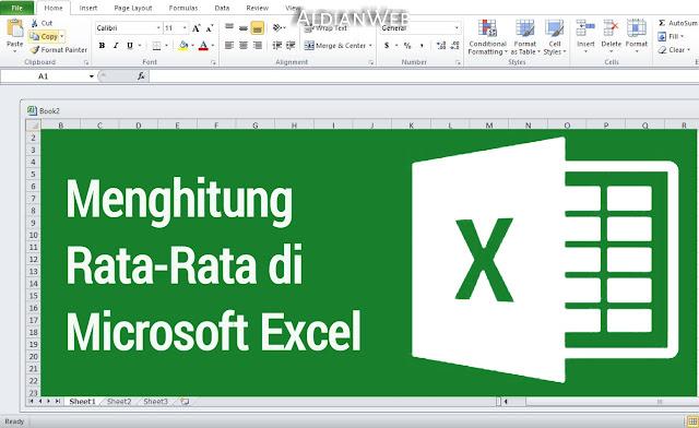 Cara Menghitung Rata-Rata di Microsoft Excel