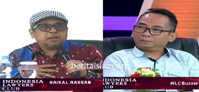Babe Haikal dan Eko Kuntadhi