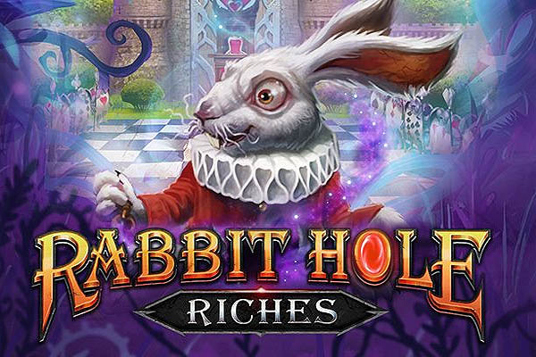 Main Gratis Slot Rabbit Hole Riches (Play N GO)