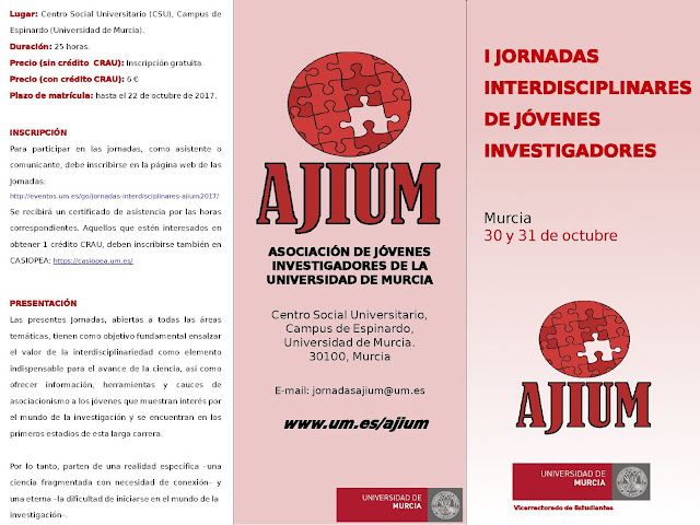 I Jornadas Interdisciplinares de Jóvenes Investigadores.