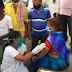 करों के बाऊरी टोला व केवट टोला में  टीकाकरण शिविर लगाया गया