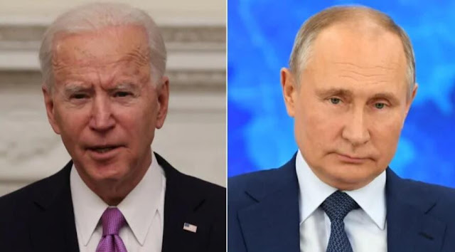 Update: Vladimir Putin invites Joe  Biden to 'live online discussion' saying it'll be interesting for Russians, US and the world to watch