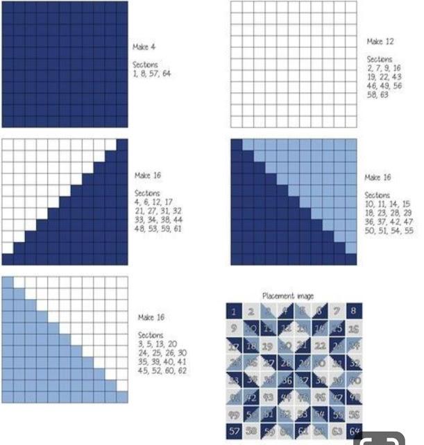 Carpenter Wheel in C2C - Free Pattern