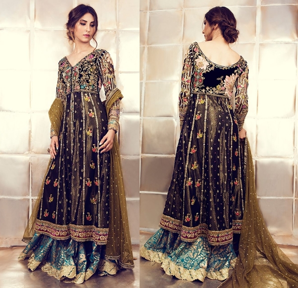 Tena Durrani Pishwas Suits with Long Frocks