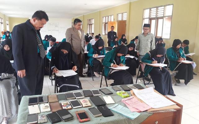 Ujian di STAI Kharisma Cicurug Diawasi Pejabat Kopertais