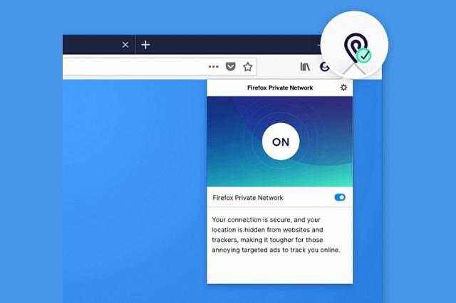 فايرفوكس يطرح خدمة VPN مجانية لمستخدميه