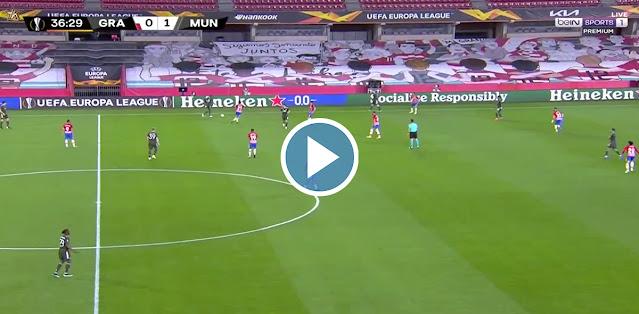 Granada vs Manchester United Live Score