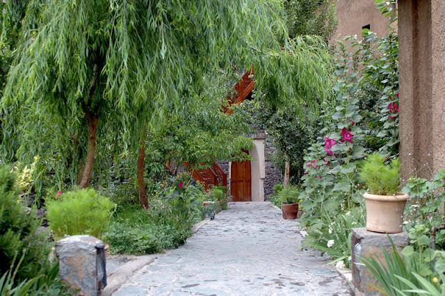 kasbah du toubkal jardin