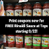 FREE Rinaldi Pasta Sauce at Tops starting 9/22 (Print Coupons SOON!)