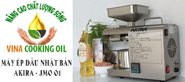 máy ép dầu thực vật nhật bản akria jmo01