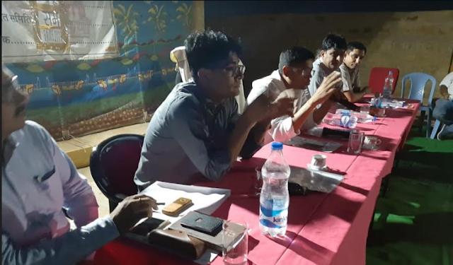 ग्राम पंचायत सोनू में खूब जमी रात्रि चौपाल जिला कलक्टर ने सुनी ग्रामीणों की परिवेदनाएं 1