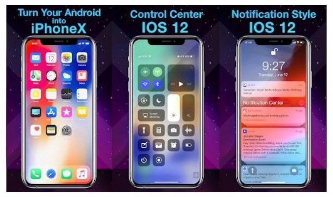 Launcher Android dengan Tampilan ala iOS - Phone X Launcher