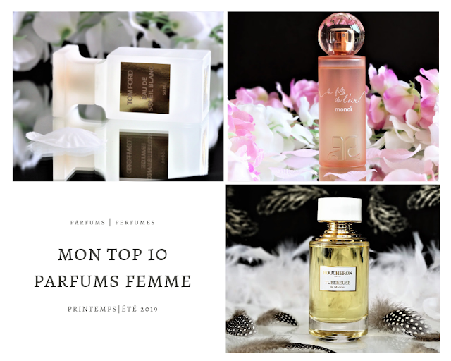 top 10 parfum femme printemps été, meilleurs parfums femme, parfums femme printemps été