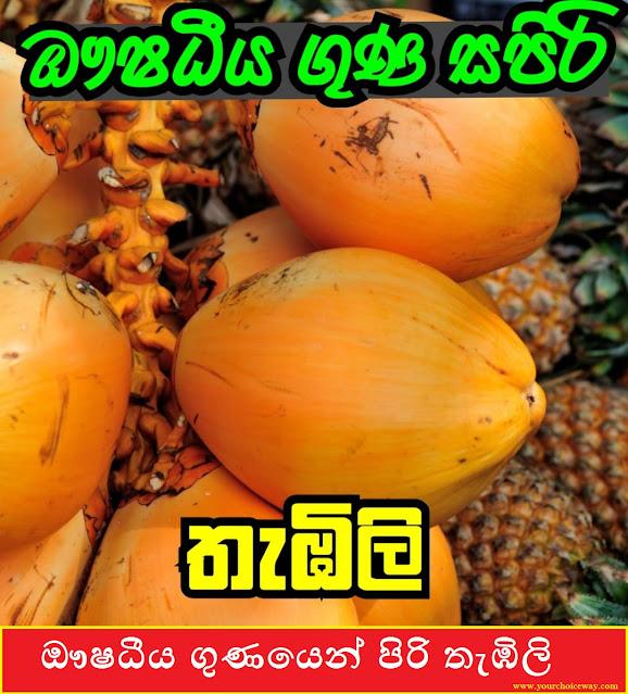 ඖෂධීය ගුණයෙන් පිරි තැඹිලි ( Thabili - King Coconut) - Your Choice Way