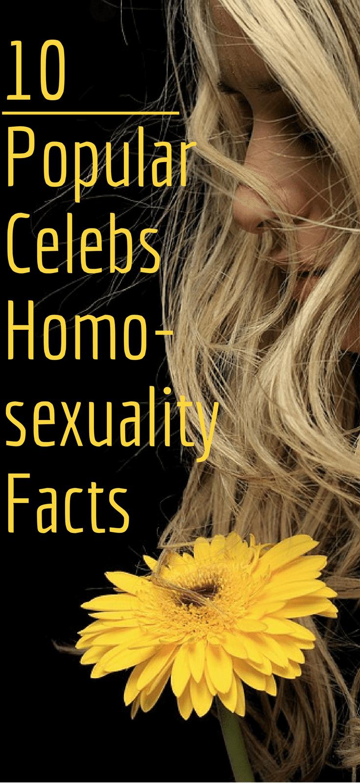 10 Popular Celebrities Homosexuality Facts