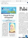 Tulisan Hari ke-11 Program Cahaya Ilmu Ramadhan tahun 2019