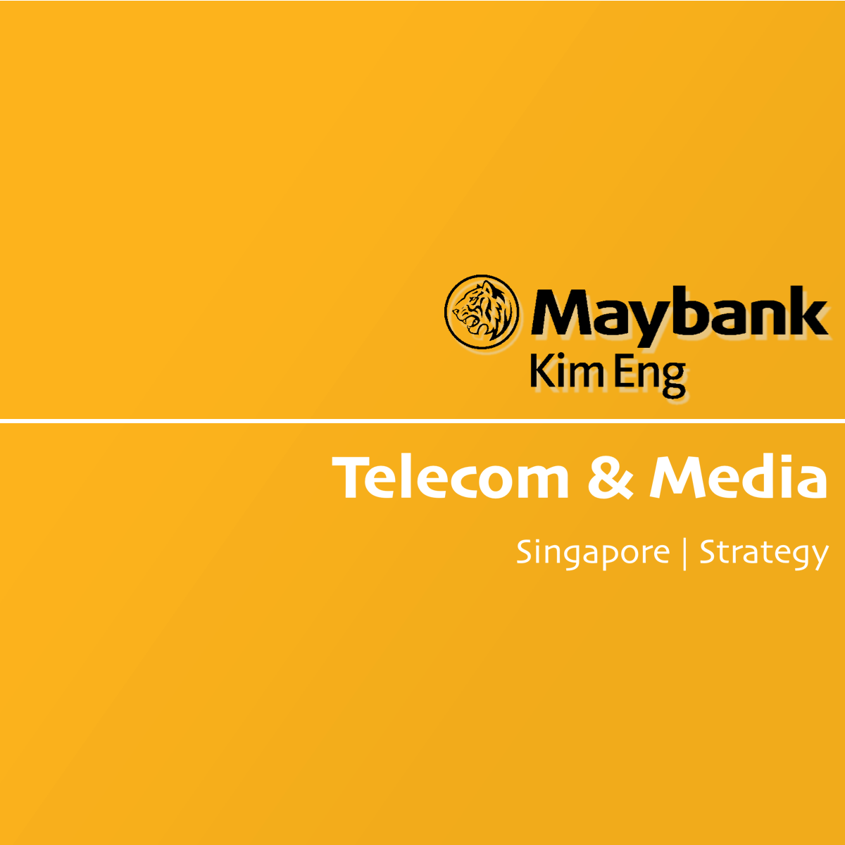 Telecom & Media Sector - Maybank Kim Eng Research | SGinvestors.io