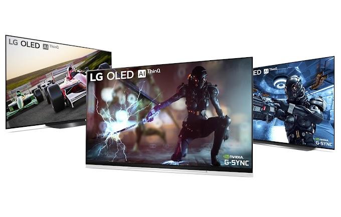 Los Oled de LG reciben compatibilidad con NVIDIA G-SYNC
