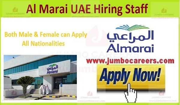 almarai jobs, almarai walk in interview