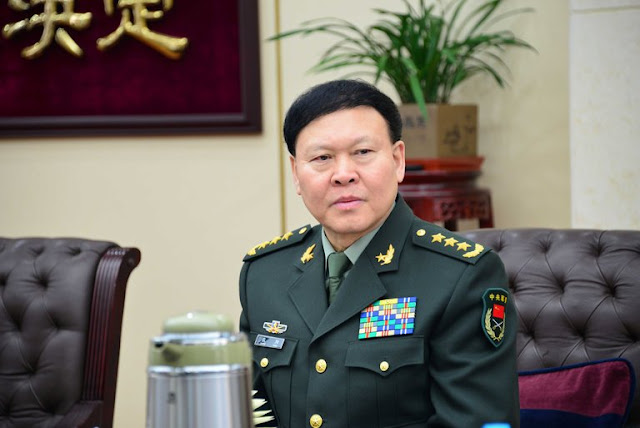 Zhang Yang, then head of General Political Department of the People's Liberation Army, in Beijing in 2014. Credit China Stringer Network, via Reuters