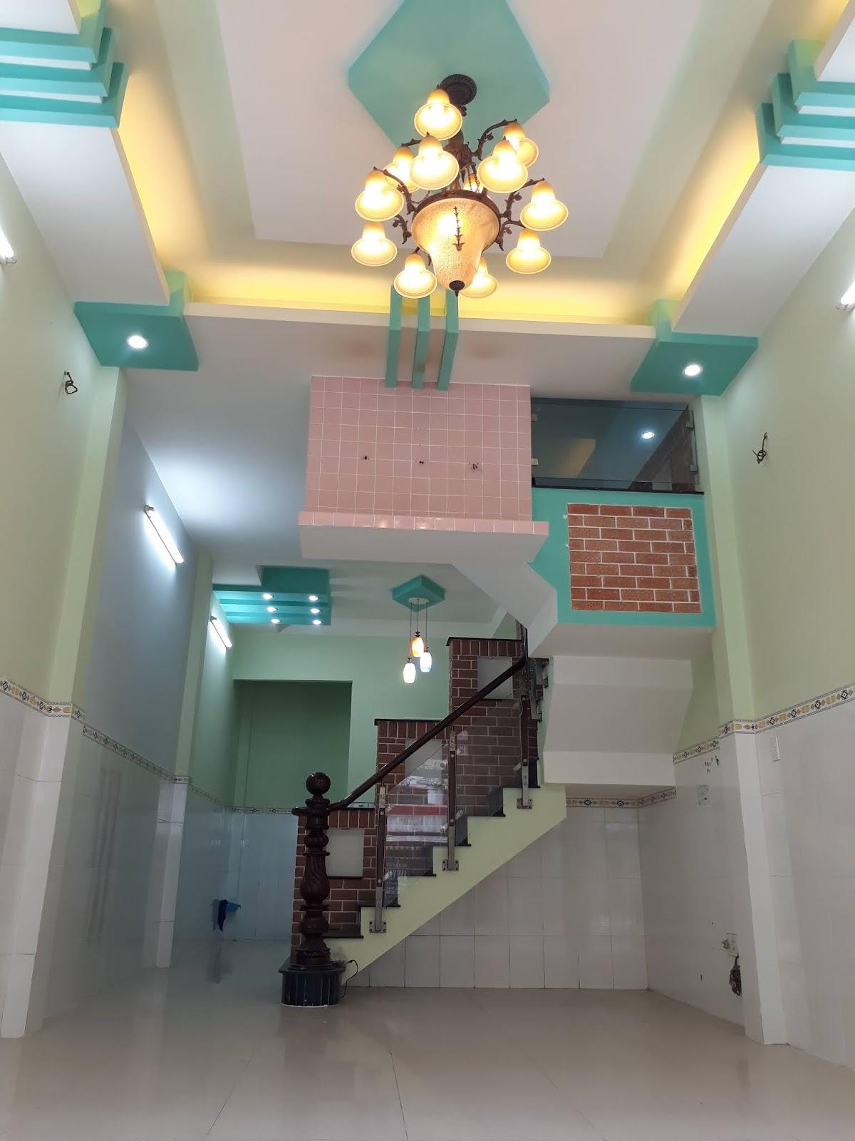 Bán nhà hẻm 330 Đất Mới phường Bình Trị Đông quận Bình Tân. Dt 4x14m đúc 2 lầu BTCT